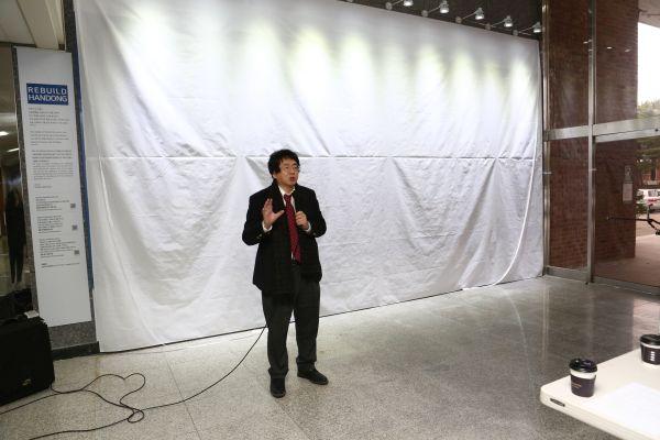 (사진1)장순흥 한동대 총장이 감사 인사말을 전하고 있다