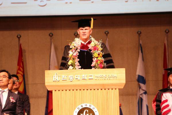 (사진4)브래들리 크리드 미국 캠벨 대학 총장